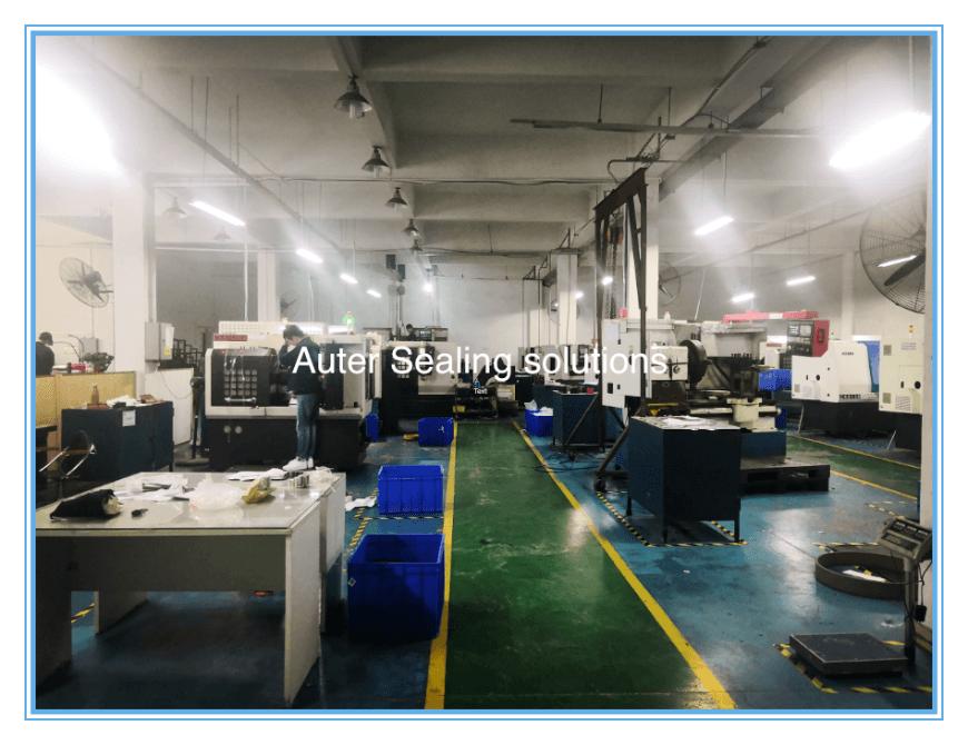 Auter Sealing CNC machining workshop