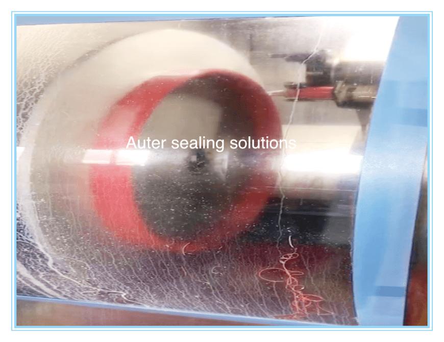Auter Sealing PU Machining Process